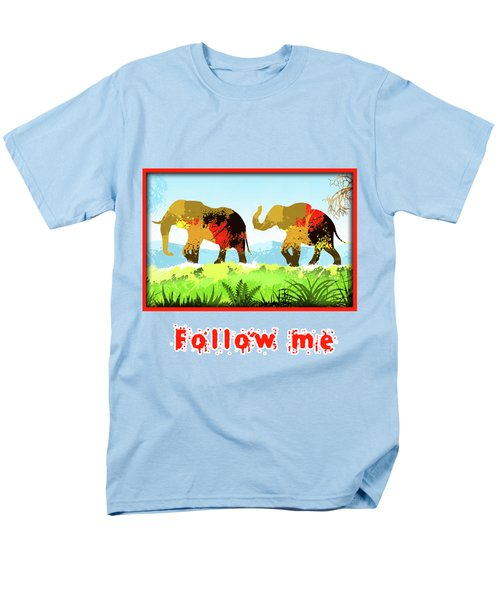 Walk With Me Men's T-Shirt  (Regular Fit) by Anthony Mwangi