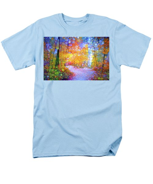 Men's T-Shirt  (Regular Fit) featuring the digital art Walk With Me by Tara Turner