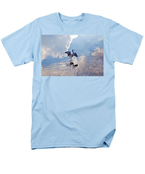 Walking On Water Men's T-Shirt  (Regular Fit) by Carolyn Marshall
