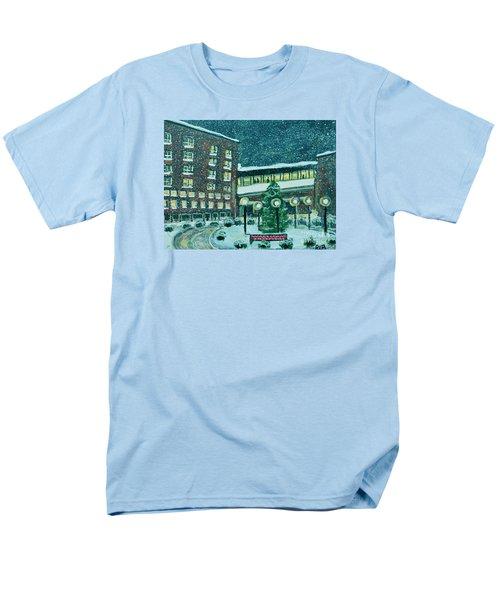Waltham Hospital On Hope Ave Men's T-Shirt  (Regular Fit) by Rita Brown