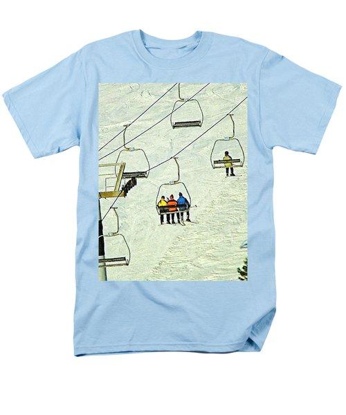 Men's T-Shirt  (Regular Fit) featuring the photograph Wanna Lift by Wendy McKennon