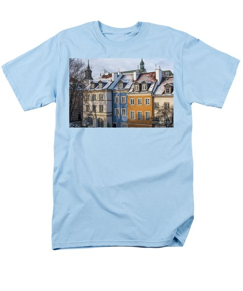 Men's T-Shirt  (Regular Fit) featuring the photograph Warsaw, Poland by Juli Scalzi