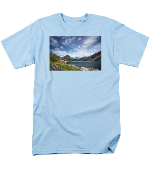 Wastwater Morning Men's T-Shirt  (Regular Fit) by Jacqi Elmslie