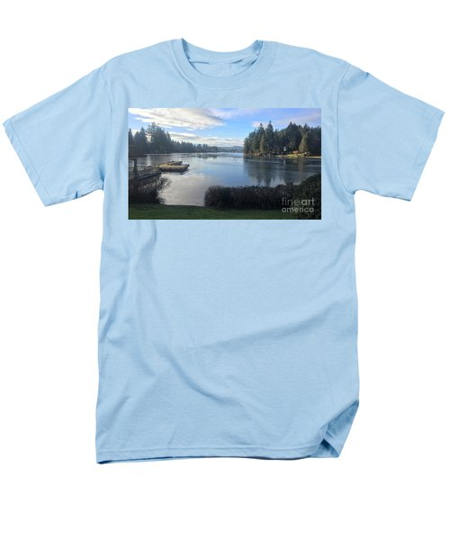 Men's T-Shirt  (Regular Fit) featuring the photograph Watching The Ice Melt by Victor K