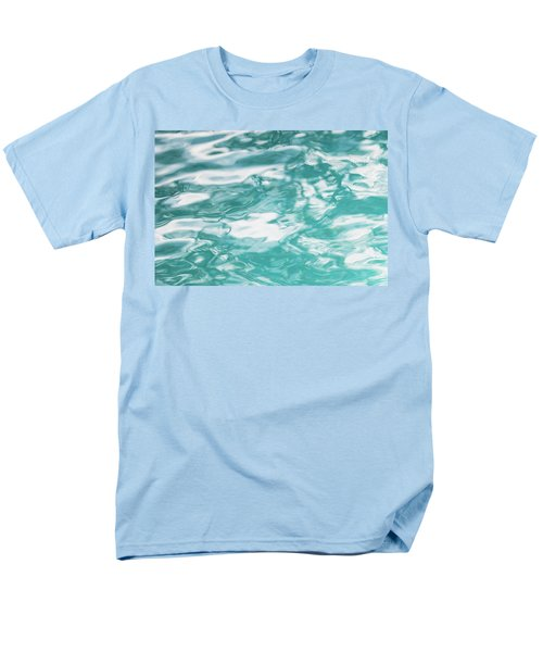 Water Abstract 001 Men's T-Shirt  (Regular Fit) by Rich Franco