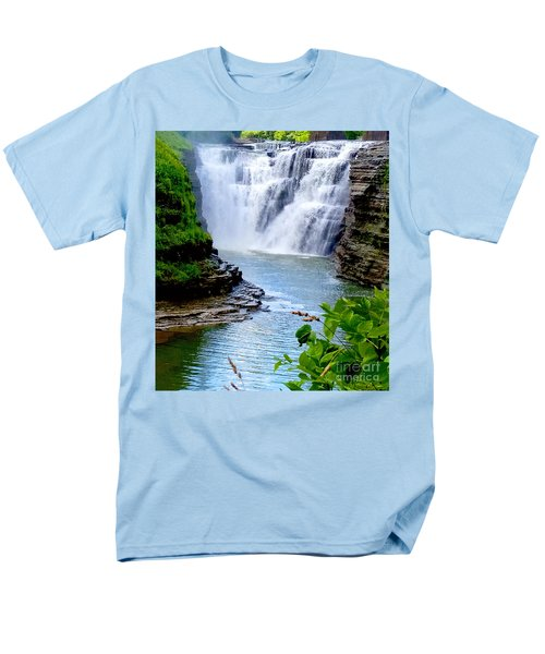 Water Falls Men's T-Shirt  (Regular Fit) by Raymond Earley