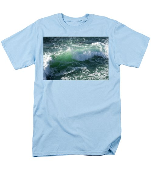 Wave At Montana De Oro Men's T-Shirt  (Regular Fit) by Michael Rock