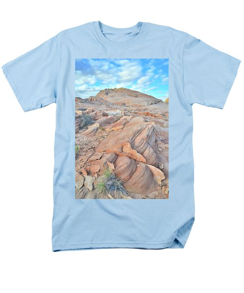 Wave Of Sandstone In Valley Of Fire Men's T-Shirt  (Regular Fit) by Ray Mathis