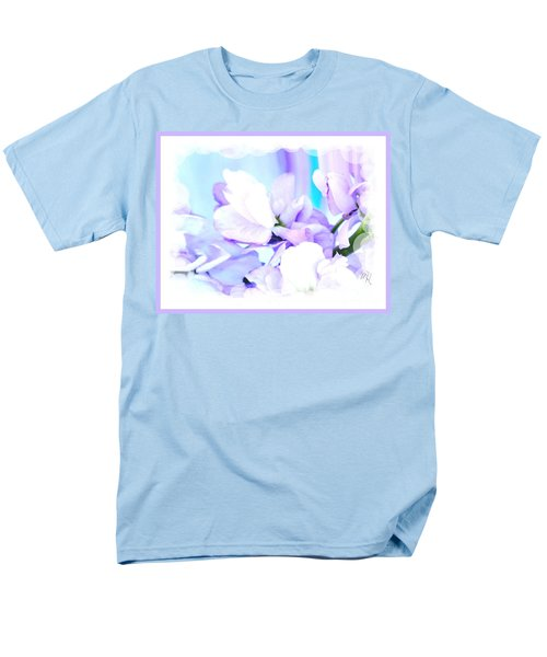 Wedding Flower Pedals Men's T-Shirt  (Regular Fit) by Marsha Heiken