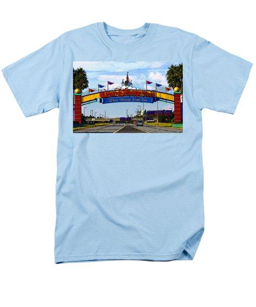 Were Dreams Come True Men's T-Shirt  (Regular Fit) by David Lee Thompson