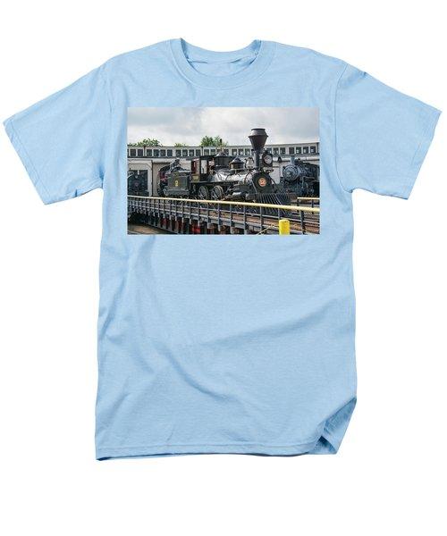 Western And Atlantic 4-4-0 Steam Locomotive Men's T-Shirt  (Regular Fit)