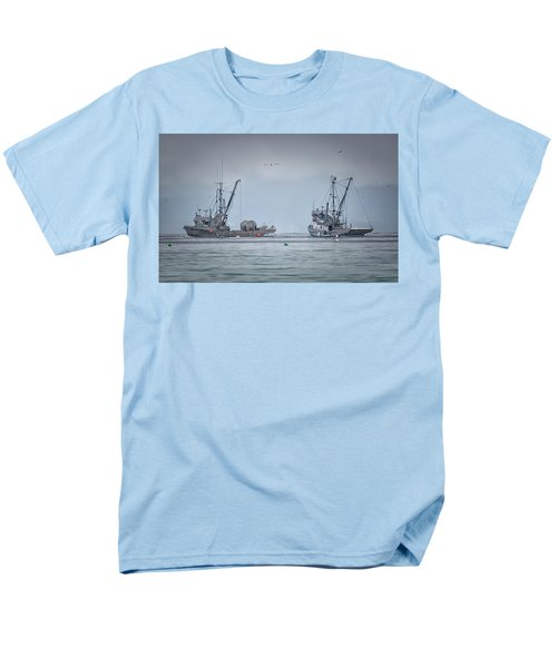 Men's T-Shirt  (Regular Fit) featuring the photograph Western Gambler And Marinet by Randy Hall