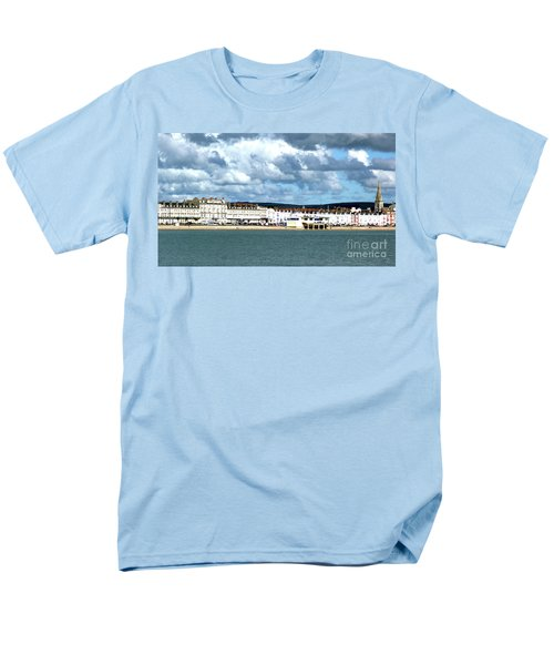 Men's T-Shirt  (Regular Fit) featuring the photograph Weymouth Seafront by Baggieoldboy