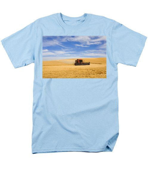 Wheat Harvest Men's T-Shirt  (Regular Fit) by Mike  Dawson