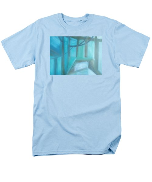 Men's T-Shirt  (Regular Fit) featuring the painting Where Is The Road? by Min Zou