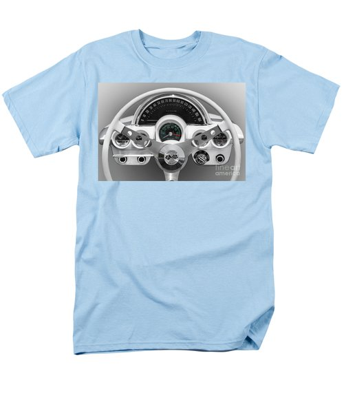 Men's T-Shirt  (Regular Fit) featuring the photograph White C1 Dash by Dennis Hedberg