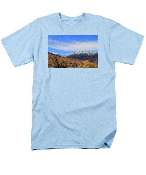 White Mountains Men's T-Shirt  (Regular Fit)