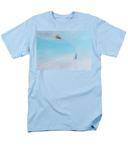 Men's T-Shirt  (Regular Fit) featuring the painting Who Consider Themselves To Be The Most Important Person Is The Least Important by Min Zou