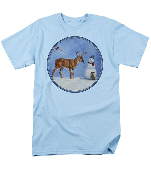 Whose Carrot Seasons Greeting Men's T-Shirt  (Regular Fit) by Crista Forest
