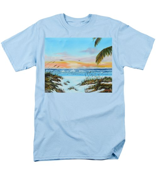 Why Not Siesta Key Men's T-Shirt  (Regular Fit) by Lloyd Dobson
