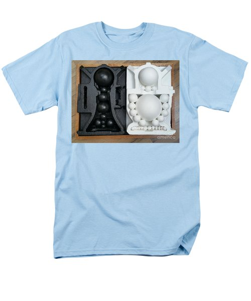 Men's T-Shirt  (Regular Fit) featuring the painting Willendorf Wedding 2 by James Lanigan Thompson MFA