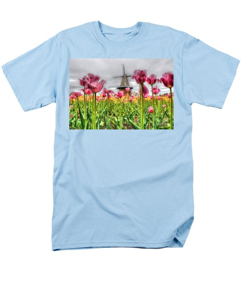 Men's T-Shirt  (Regular Fit) featuring the photograph Windmill Island by Robert Pearson