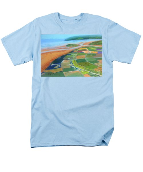Wings Over Grand Pre' Men's T-Shirt  (Regular Fit) by Rae  Smith
