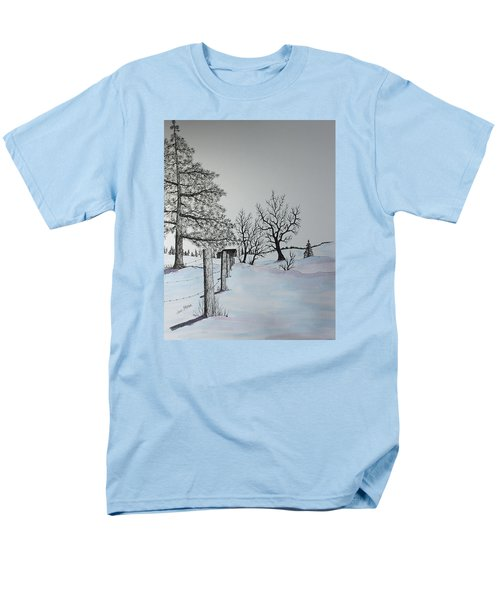 Winter Blues Men's T-Shirt  (Regular Fit) by Jack G  Brauer
