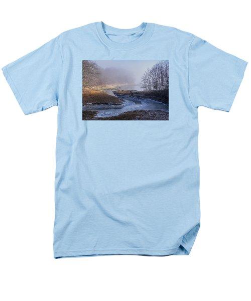 Winter Inlet Men's T-Shirt  (Regular Fit) by Tom Singleton