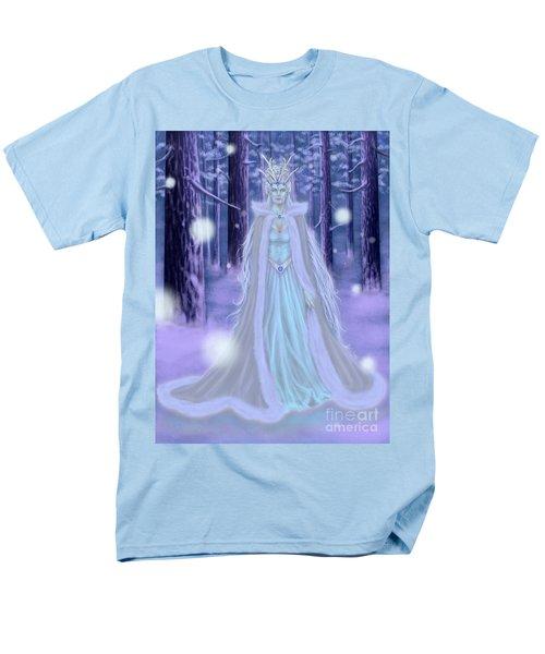 Winter Queen Men's T-Shirt  (Regular Fit) by Amyla Silverflame