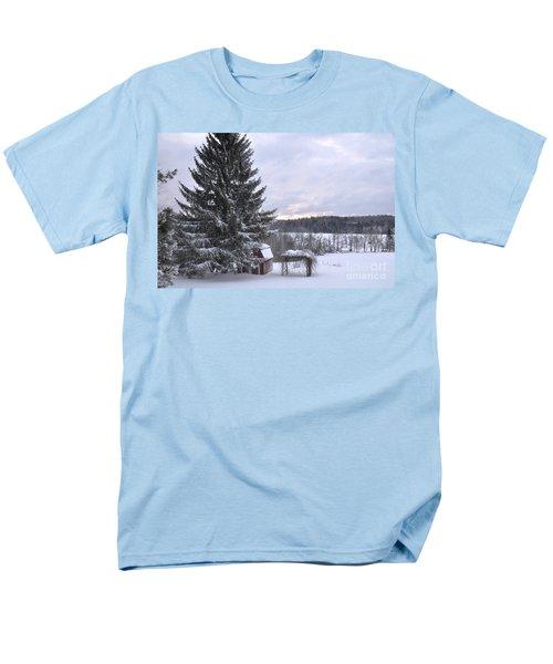Men's T-Shirt  (Regular Fit) featuring the photograph Winter Sunset - 1 by John Black