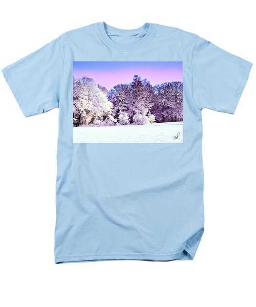Winter Men's T-Shirt  (Regular Fit) by Zedi