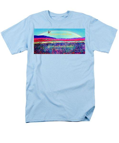 Wishing You The Sunshine Of Tomorrow Bereavement Card Men's T-Shirt  (Regular Fit) by Kimberlee Baxter