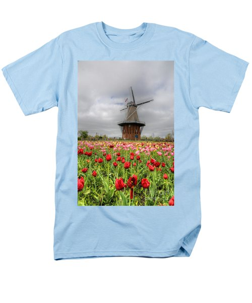 Men's T-Shirt  (Regular Fit) featuring the photograph Wjndmill Island 2 by Robert Pearson