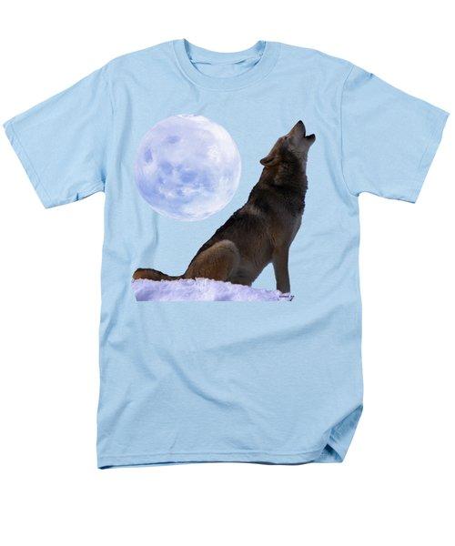 Wolf Howling Men's T-Shirt  (Regular Fit) by EricaMaxine  Price