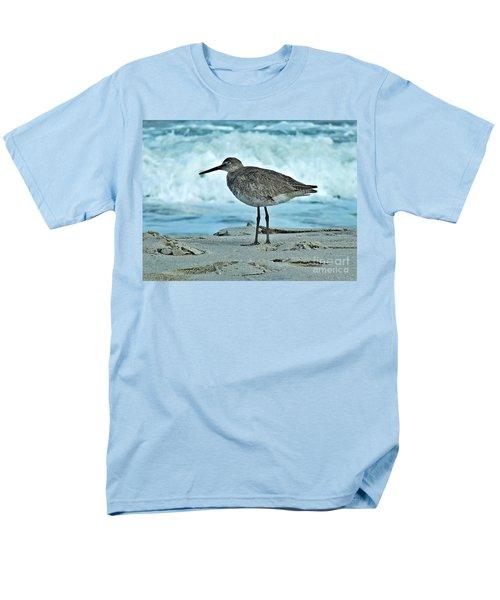 Wonderful Willet  Men's T-Shirt  (Regular Fit) by Christy Ricafrente