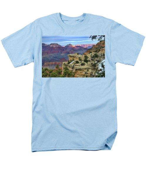 Yavapai Point Sunset Men's T-Shirt  (Regular Fit) by Diana Mary Sharpton