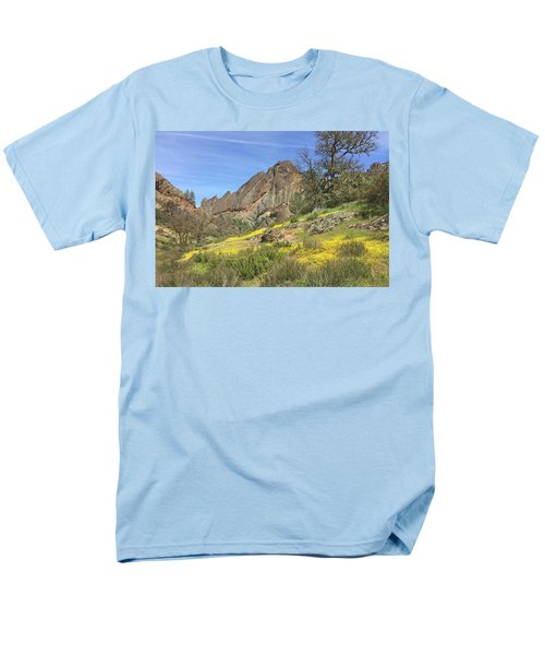 Men's T-Shirt  (Regular Fit) featuring the photograph Yellow Carpet by Art Block Collections