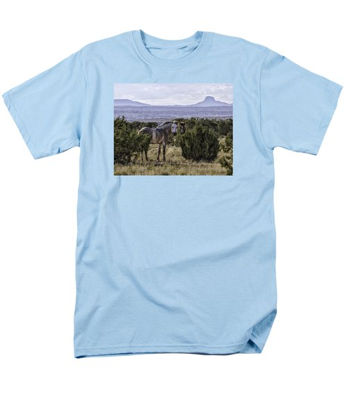 Your'e Safe Here Men's T-Shirt  (Regular Fit) by Elizabeth Eldridge