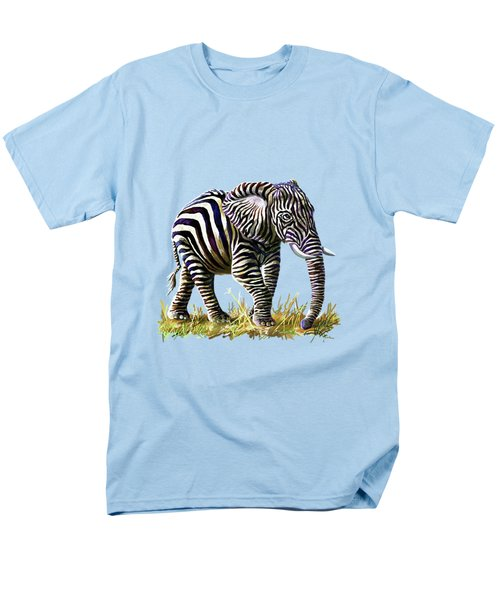 Zebraphant Men's T-Shirt  (Regular Fit) by Anthony Mwangi