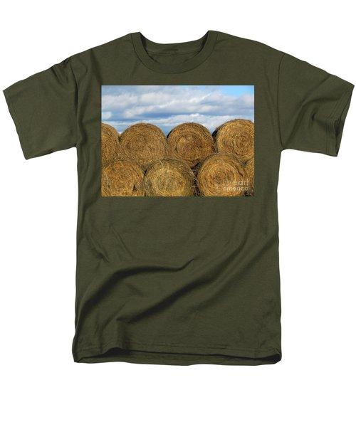 Hay  Men's T-Shirt  (Regular Fit) by France Laliberte