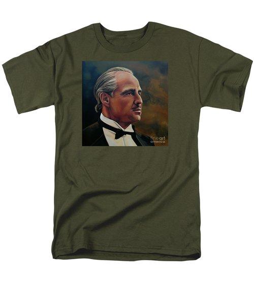 Marlon Brando Men's T-Shirt  (Regular Fit) by Paul Meijering