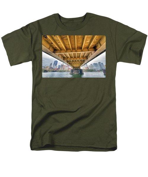 0309 Pittsburgh 4 Men's T-Shirt  (Regular Fit) by Steve Sturgill