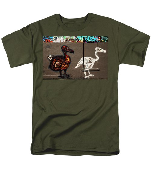 Artistic Graffiti On The U2 Wall Men's T-Shirt  (Regular Fit) by Panoramic Images