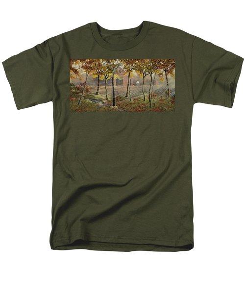 Barrel Spring Men's T-Shirt  (Regular Fit) by Duane R Probus