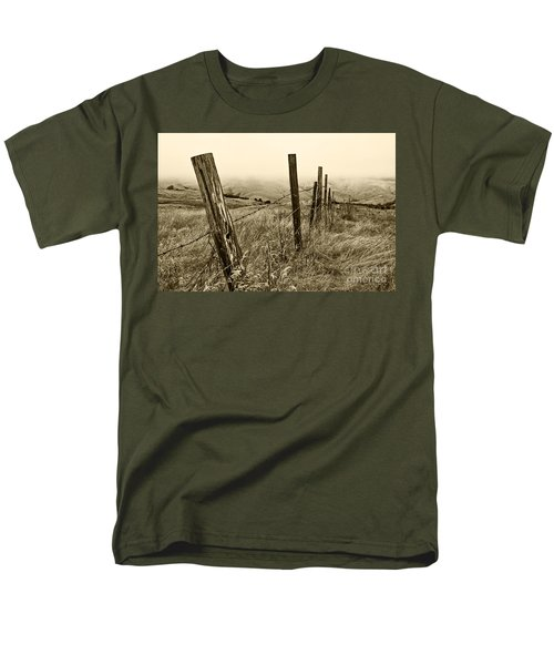 Men's T-Shirt  (Regular Fit) featuring the photograph Bay Hill Road by Roselynne Broussard