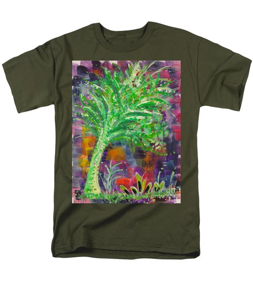 Men's T-Shirt  (Regular Fit) featuring the painting Celery Tree by Holly Carmichael