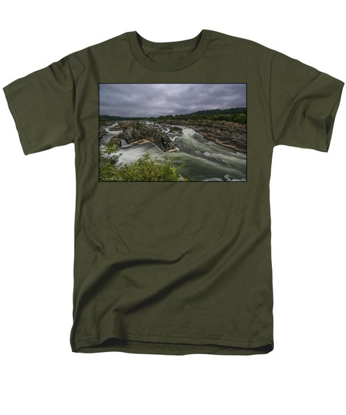 Great Falls Men's T-Shirt  (Regular Fit)