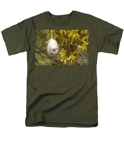Happy Easter Men's T-Shirt  (Regular Fit) by Living Color Photography Lorraine Lynch