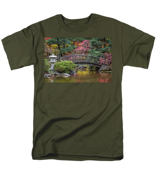 Japanese Bridge Men's T-Shirt  (Regular Fit) by Sebastian Musial